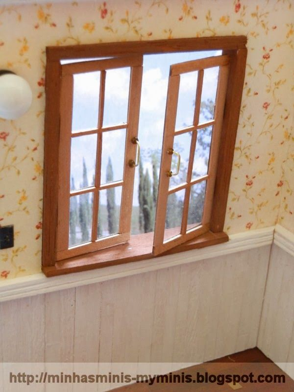 how to miniature working windows in dollhouse size floor plans pinterest miniatur. Black Bedroom Furniture Sets. Home Design Ideas