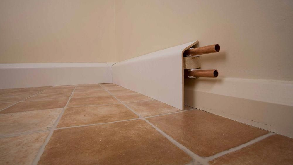 How To Box In And Hide Pipes Making A Box To Hide Central Heating And Water Pipes In Your House Shower Plumbing Bathroom Plumbing Hide Pipes