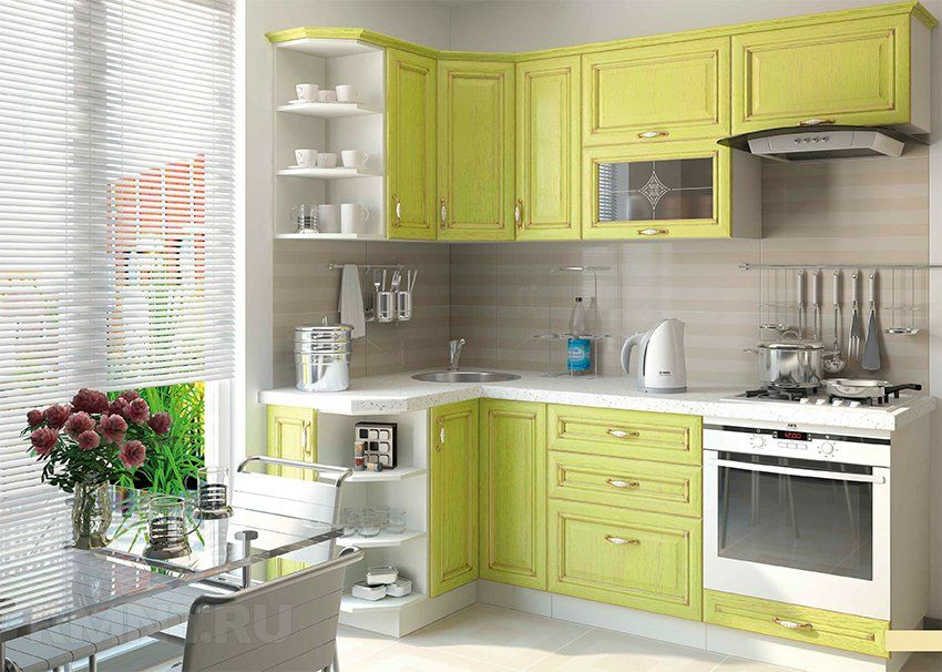 Best Lemon Green Kitchen Grey Furniture Wayfair Kitchen 400 x 300