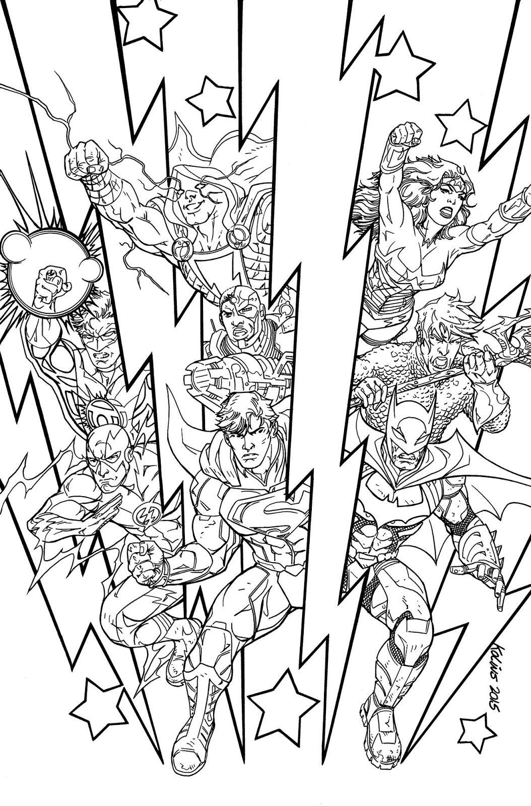 Justice League Fan Art Justice League Darkseid War Act Three Gods Of Justice Chapter 2 Superhero Coloring Pages Superhero Coloring Coloring Pages