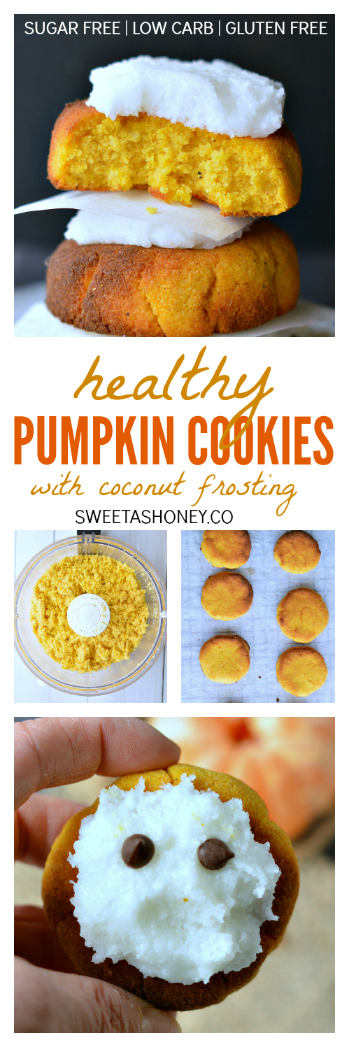 Healthy pumpkin cookies | Clean pumpkin cookies| Gluten free pumpkin cookies recipe