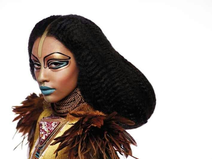 Mordern Egyptian makeup