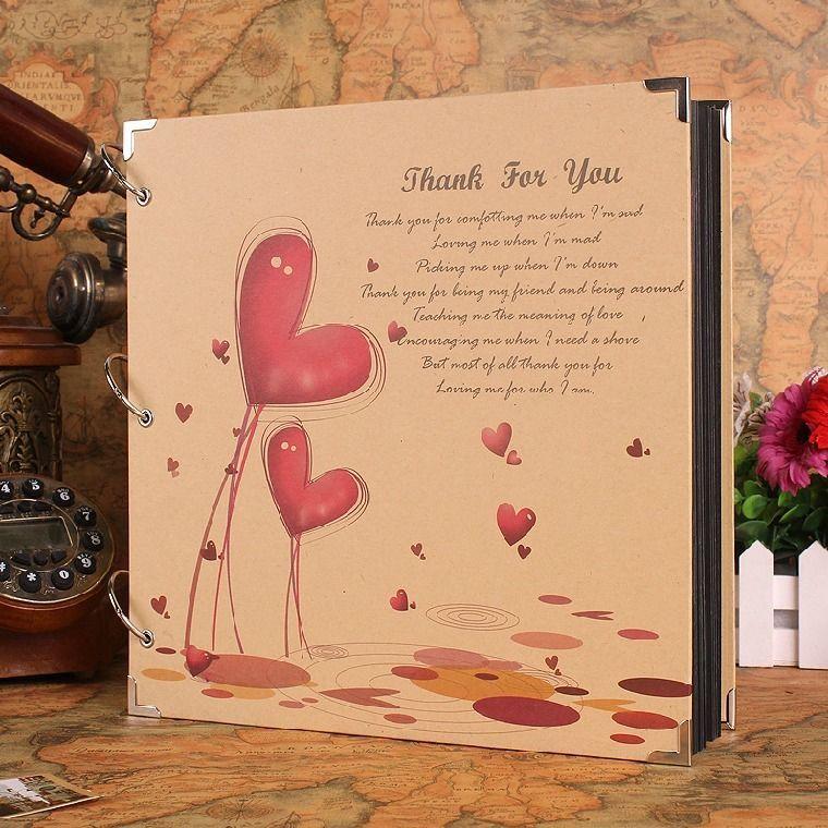 Thank You Cute Big DIY Photo Album Mommy Book Baby Family Wedding Gift