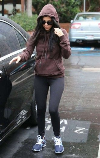 80340630ab2 leggings sweater sweatshirt hoodie kourtney kardashian sportswear sports shoes  sneakers shoes