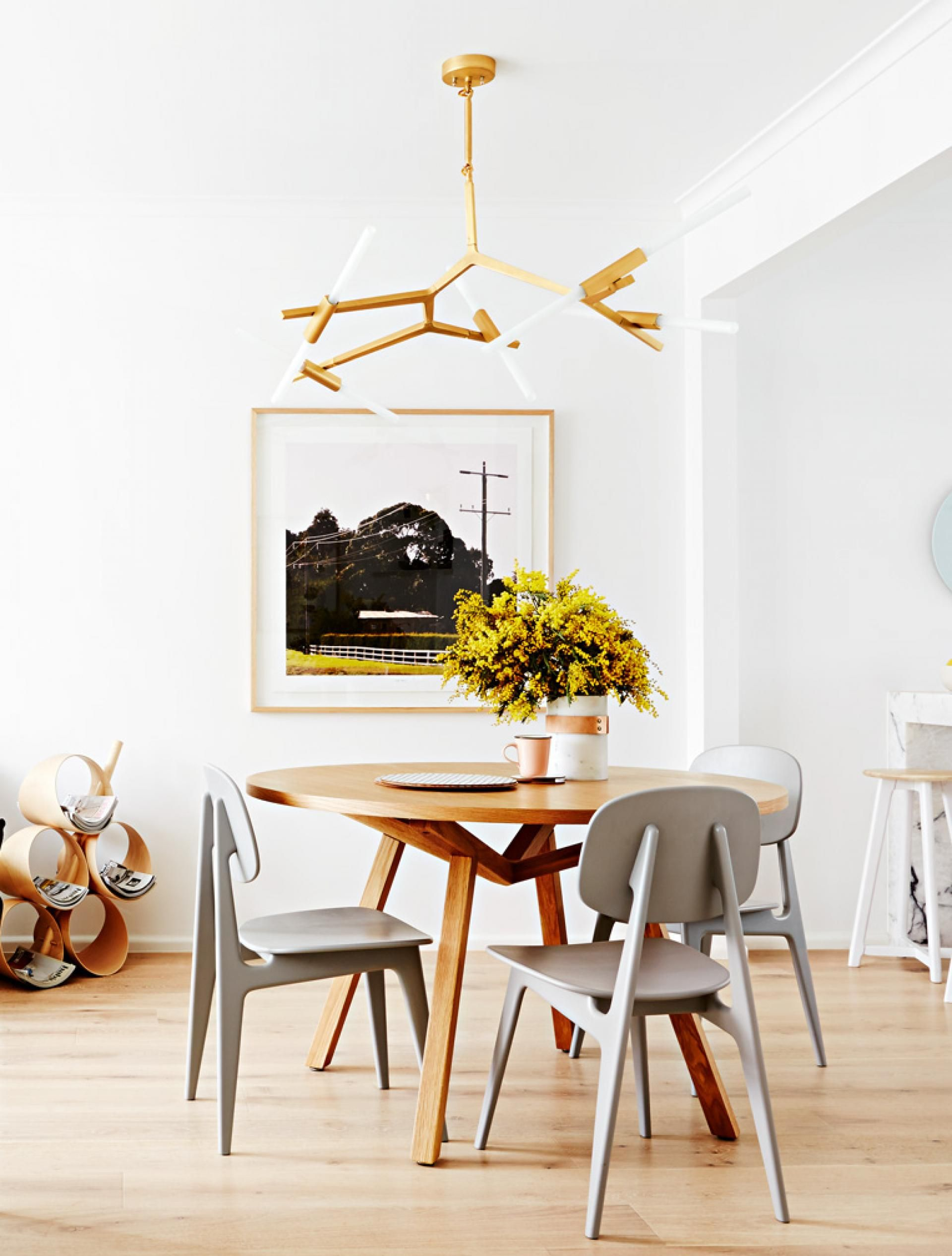 Top 5 Lighting Ideas For Your Dining Room Timber Dining Table Dining Table Home Decor Items Online