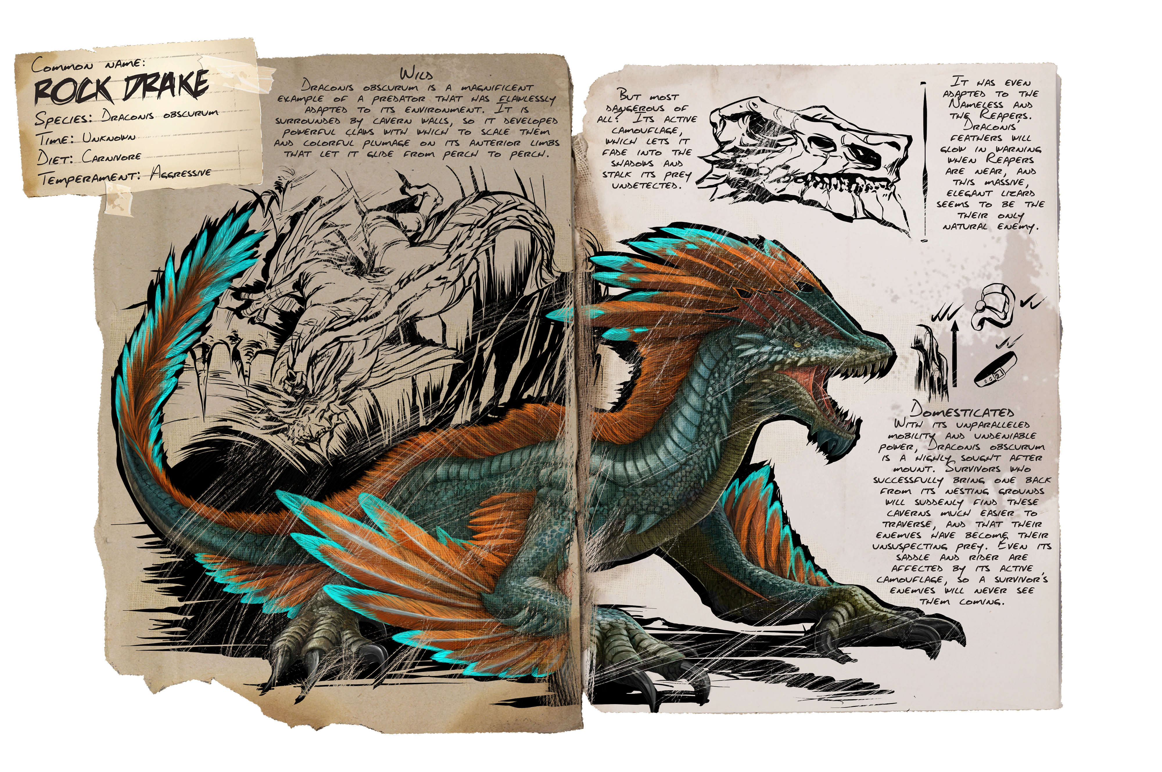 Dossier Rock Drake Png 4 000 2 660 Pixels Ark Survival Evolved Game Ark Survival Evolved Ark
