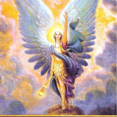 """Hello from Heaven~ Archangel Azrael: """"Your loved ones in Heaven are doing fine. Let go of worries, and feel their loving blessings. In your quiet moments, you can feel their presence. trust your intuition. You may notice dream visits from deceased loved ones. Your loved ones want to work with your guardian angels to help you be peaceful, so watch for other signs from Heaven. You can ask Azrael to bring you a message or dream visitation from your loved ones in Heaven. ~Archangel Oracle Cards"""