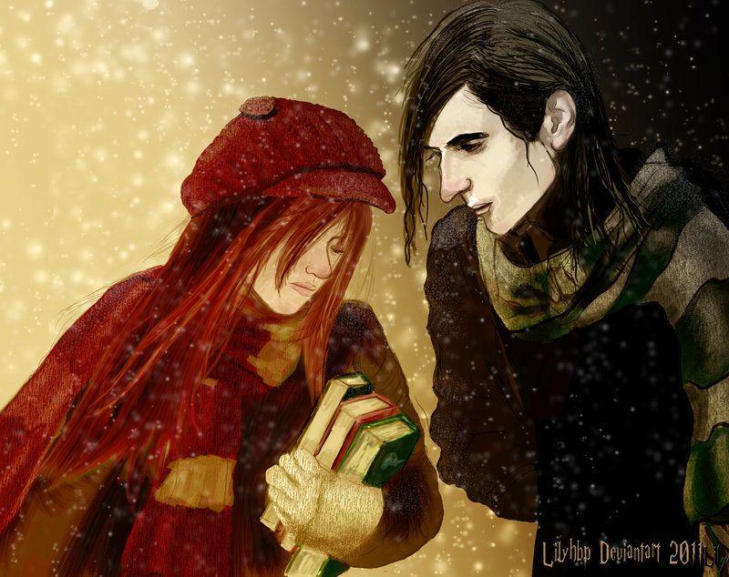 Severus Snape Lily Evans Fan Art Hp Lost Friendship