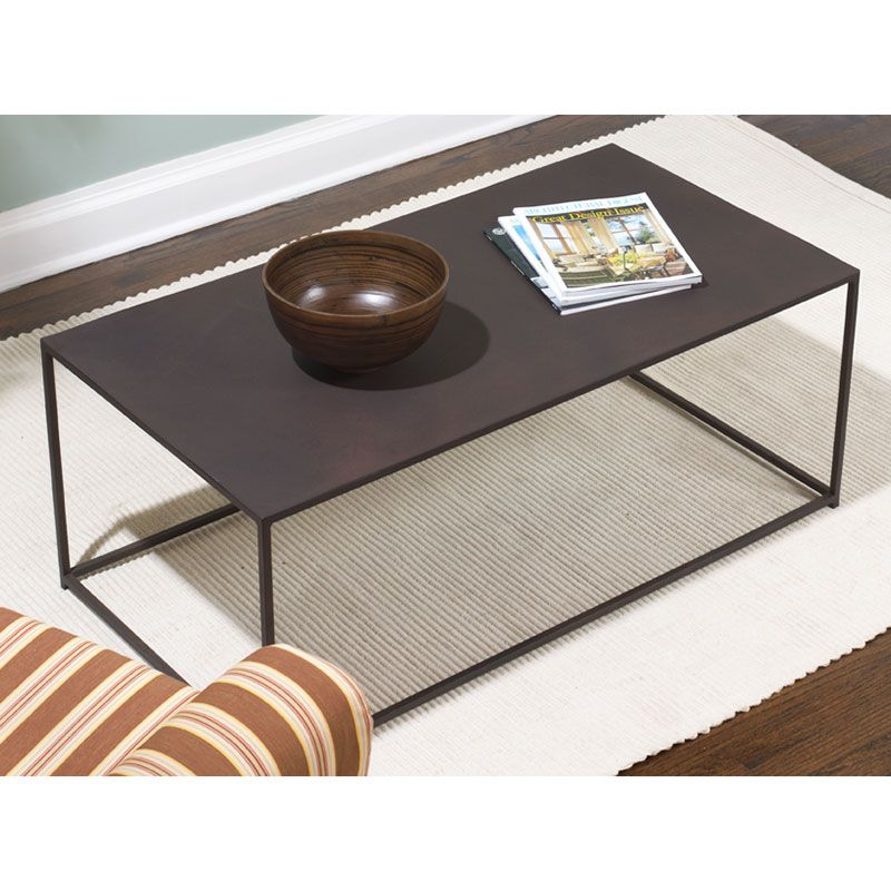 Uptown Cocktail Table Urban Coffee Table Coffee Table Steel