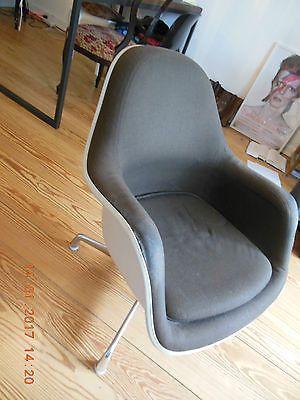 sparen25 infoherman miller lounge stuhl chair weiß drehstuhl r c