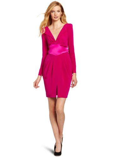 Catherine Malandrino Women's Long Sleeve V-Neck Dress: $690.00 http://www.amazon.com/gp/product/B0088XHGQW?ie=UTF8=1789=B0088XHGQW=xm2=luclan-20