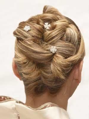 Wedding updo hairstyles for bridesmaids  Wedding Updo  Zimbio #bridemaidshair