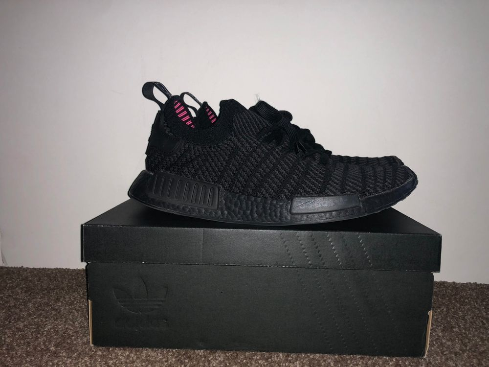 856e3a798 Adidas Men s NMD R1 STLT PK Primeknit Triple Black Boost CQ2391 size 11   fashion  clothing  shoes  accessories  mensshoes  athleticshoes (ebay link)