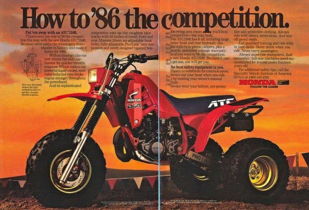 Original New Copy Of Honda 1981 ATC250R Brochure