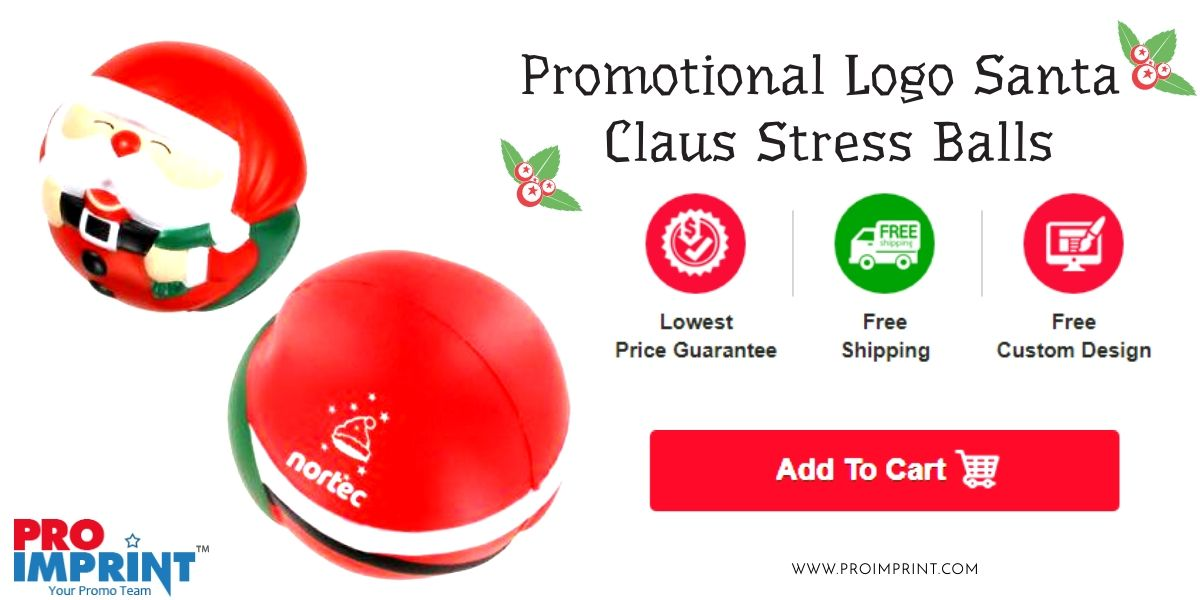 16331edd8c425 You can sing and dance to a successful holiday campaign with these unique promotional  Christmas gifts.  Santaclaus  Stressballs  Giveaways