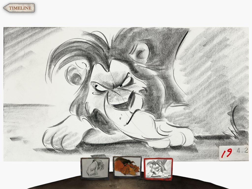 The Lion King Concept Art Scar Disney Concept Art