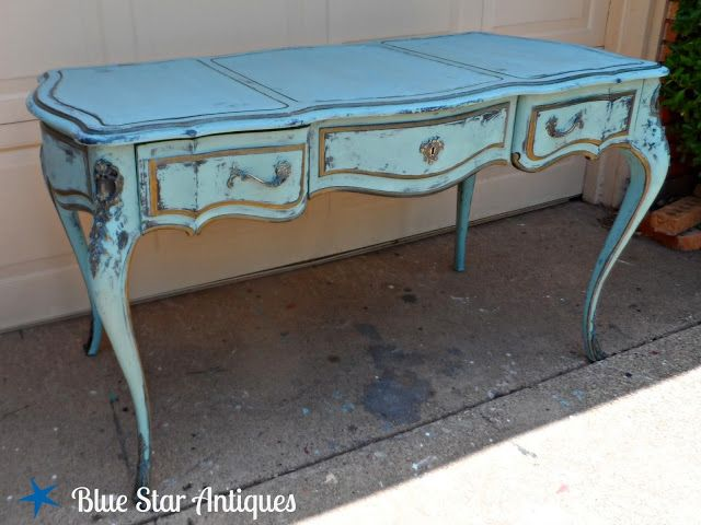 Blue Star Antiques: A French Desk Worth Waiting For