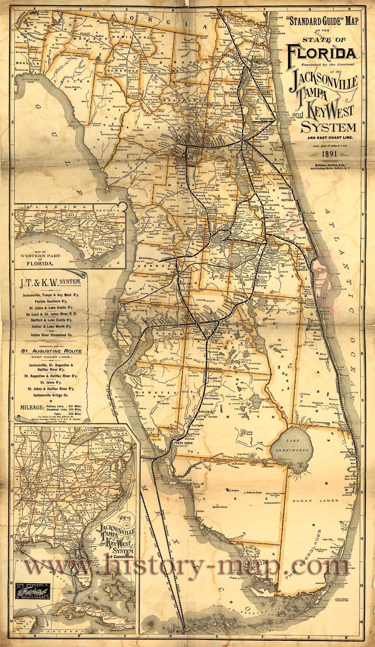 Old Florida Maps.Pin By Chris Blanar On Dog S Breakfast In 2019 Florida Vintage