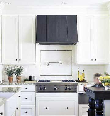 Kitchen Range Hood Ideas Stylish Ventilation Hoods Küchenschränke - dunstabzugshaube kleine küche