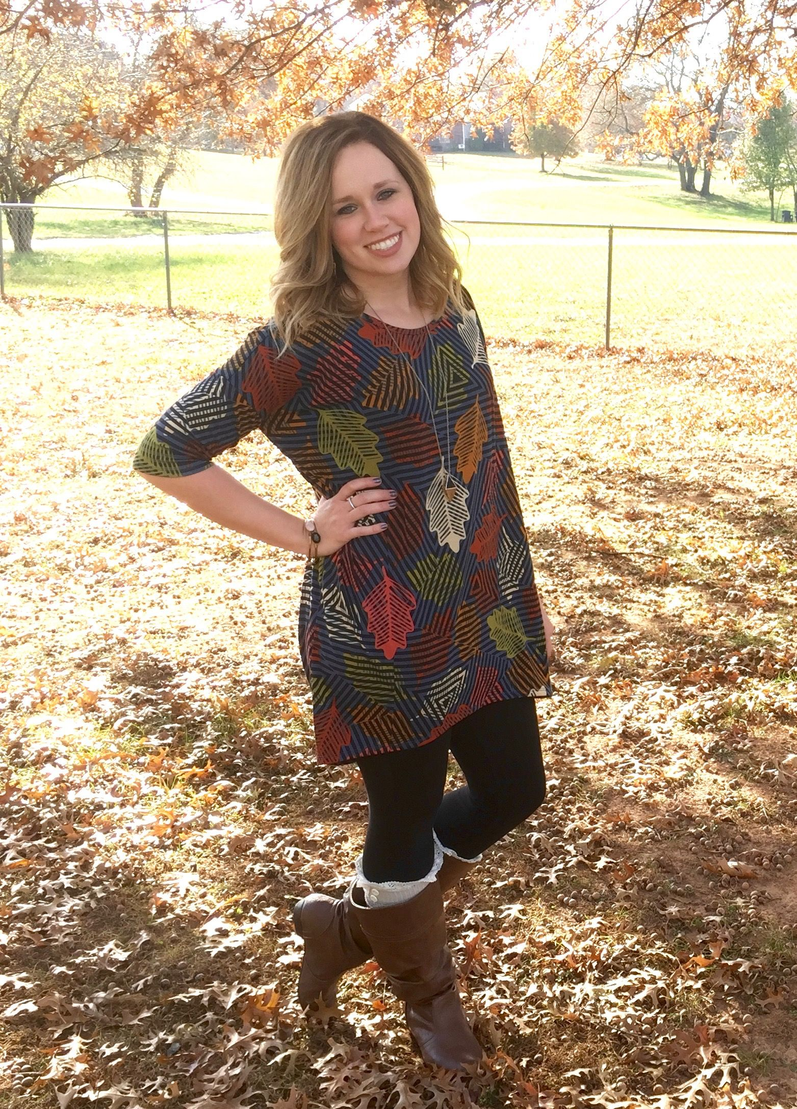 LuLaRoe Breann Elliott FALL  Irma Tunic