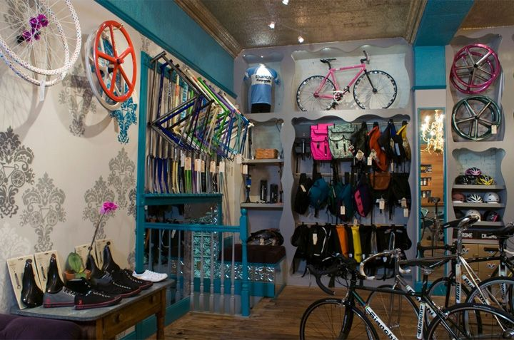 Superb Bicycle Boutique By O Z I Boston Retail Design Blog StoreShop Interior