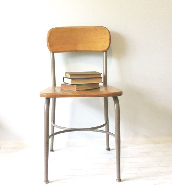 School Desk Chair heywood wakefield, large, school desk chair, office chair
