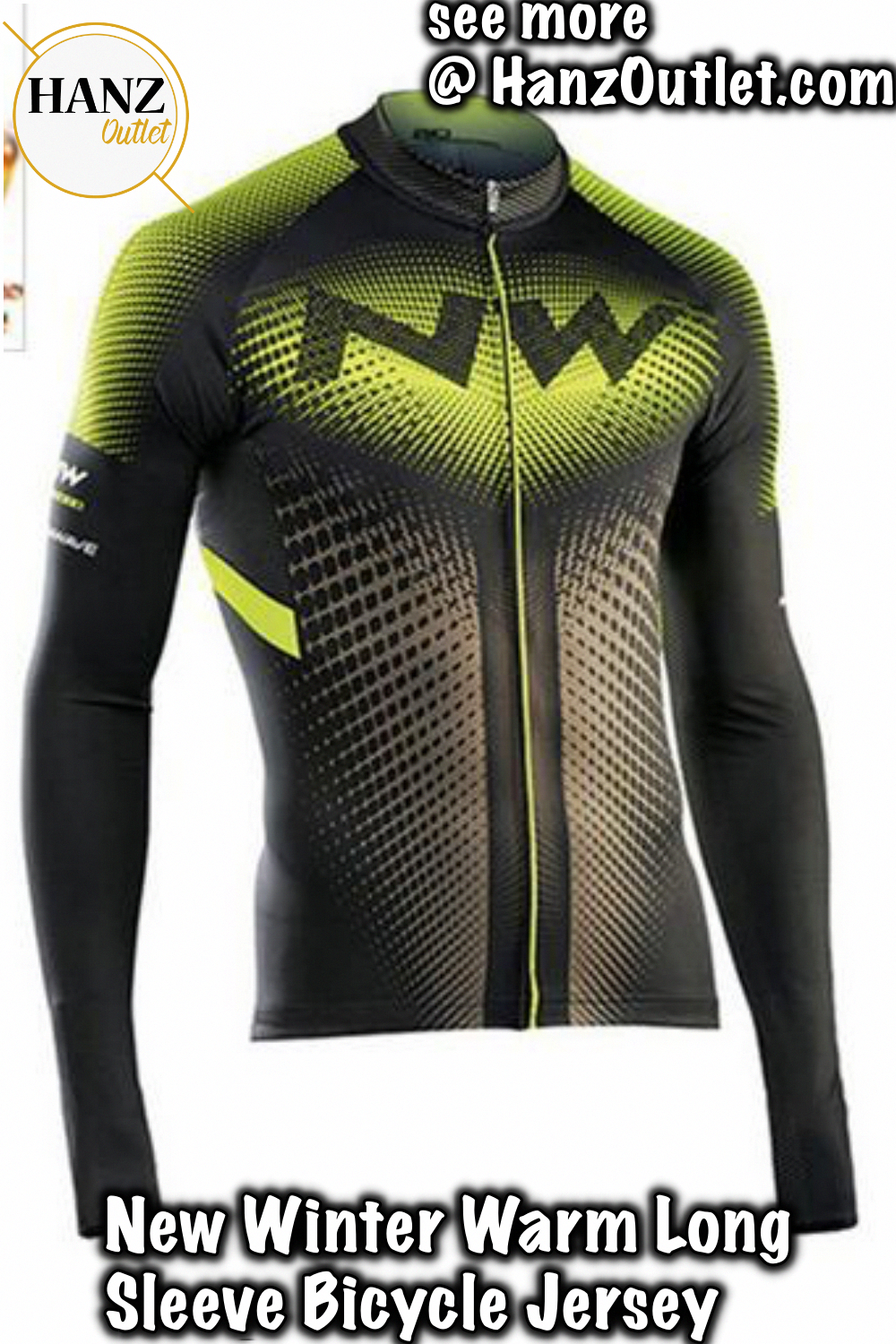 Team Men/'s Bicycle Sports Fleece Jersey Wear Winter Riding Thermal Tops Maillots