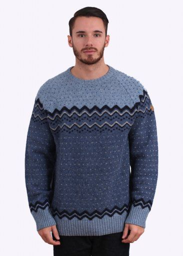 Fjallraven Ovik Knit Sweater Blueberry   FJALLRAVEN AW15