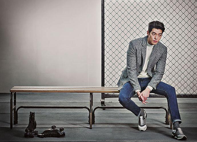 Kim Woo Bin - SIEG FAHRENHEIT FW15