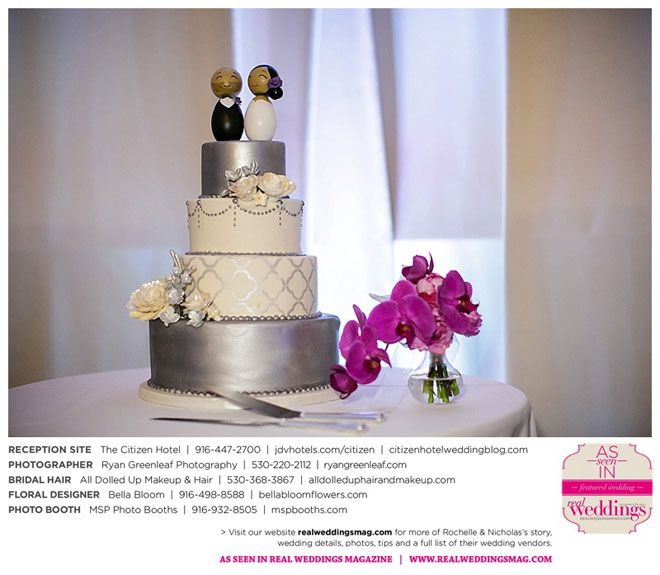 Sacramento Wedding Inspiration: Rochelle & Nicholas {from