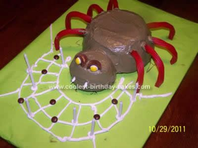 homemade halloween spider cake this website is the pinterest of halloween cakes