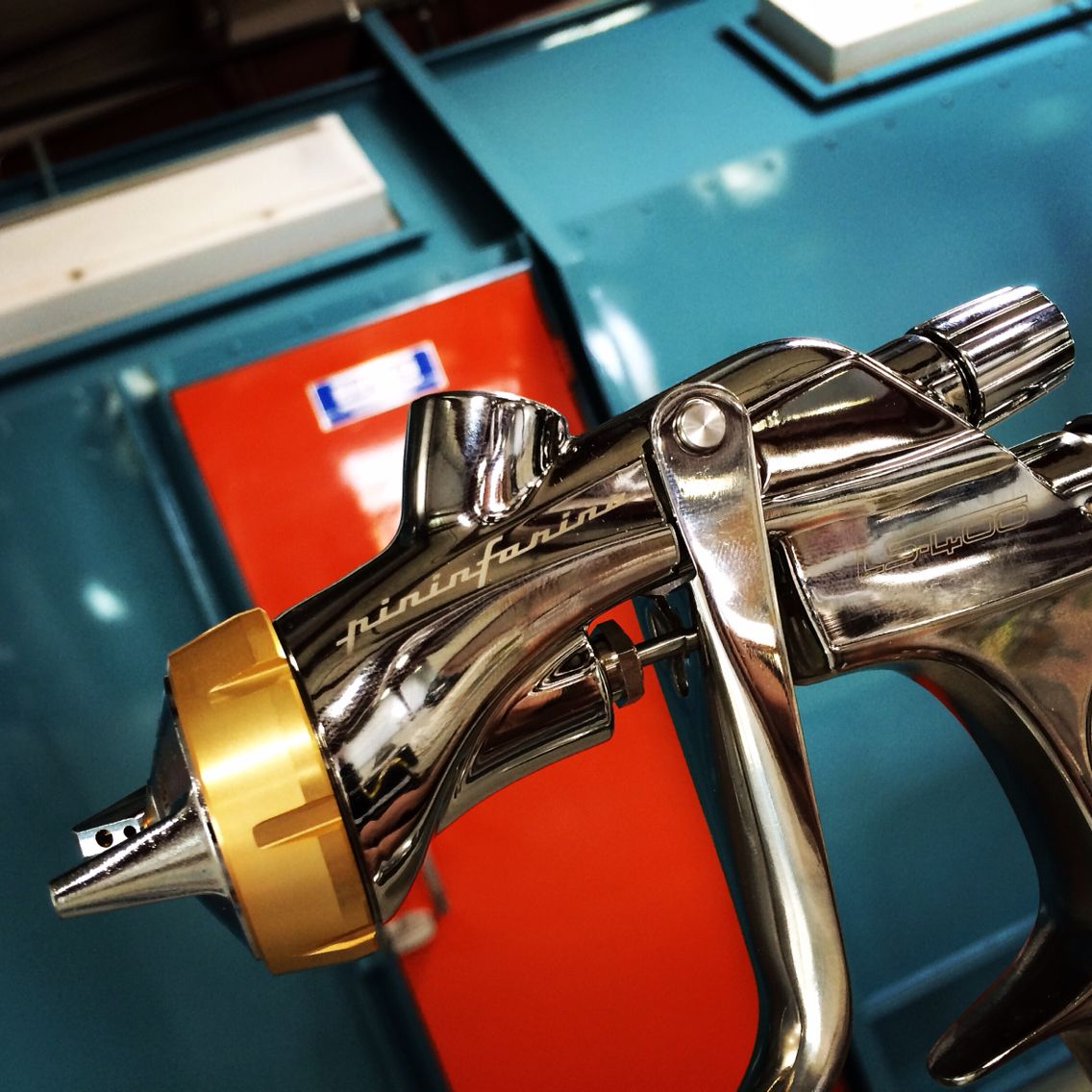 Pininfarina Iwata Paint Gun Spraying Ppg Valenti