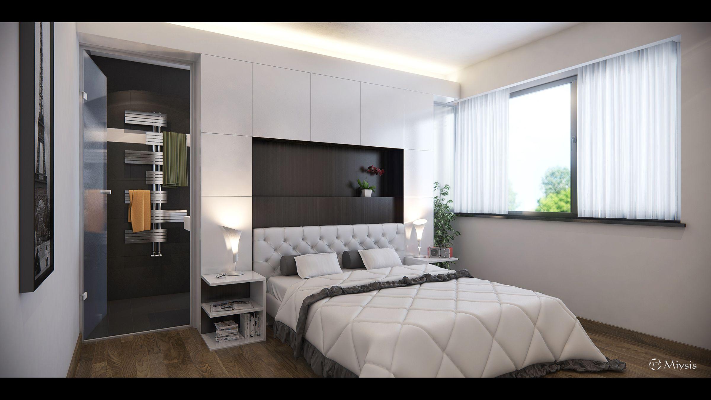 3D Bedroom Design Miysis Studio 3D  Bedroomcgarchitecte  Professional 3D