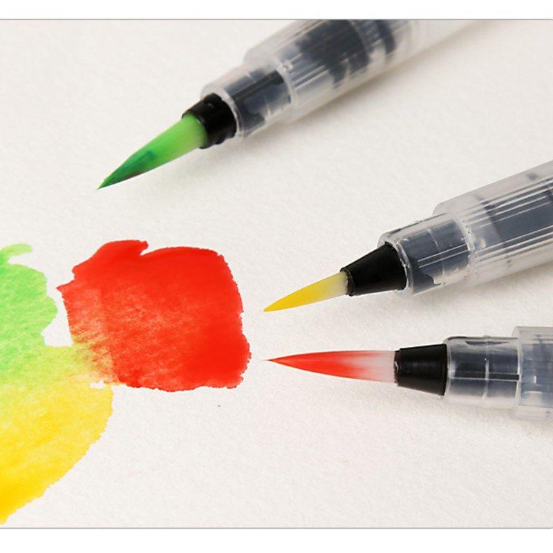 1pc Refillable Painting Brush Watercolor Brush Water Tank