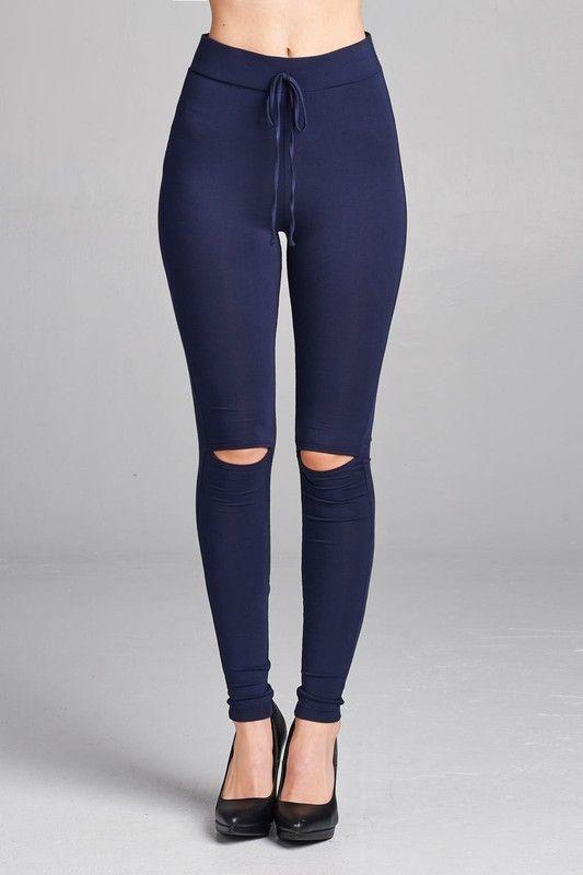 517133752d4cf2 Navy-She's Got Revenge Legging | Products | Long pants, Leggings are ...