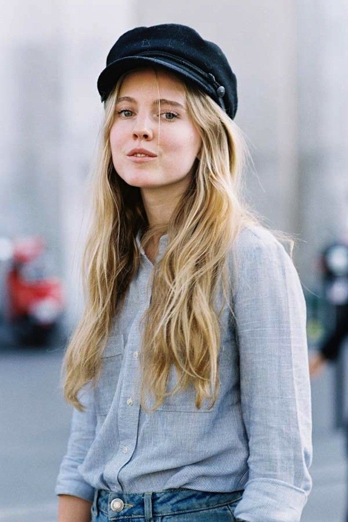Would You Wear a Baker Boy Hat  via  WhoWhatWear b5fd16a5f70b
