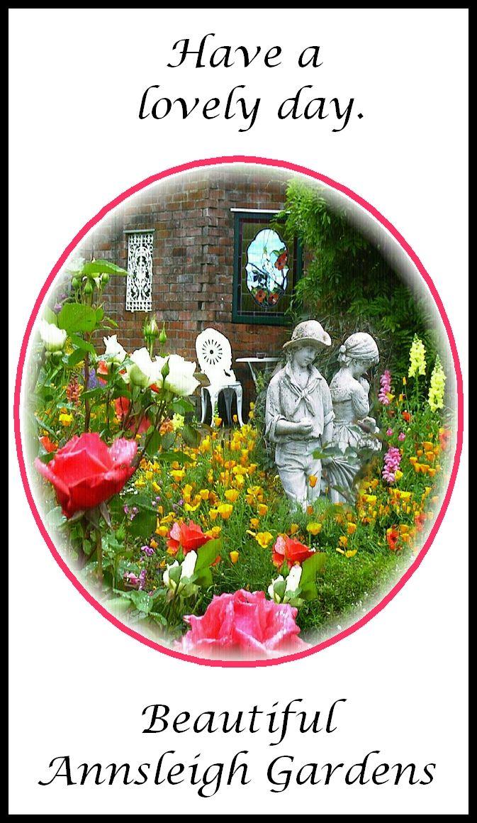 #flowers #statues #garden ... http://theSupergranny.net ...