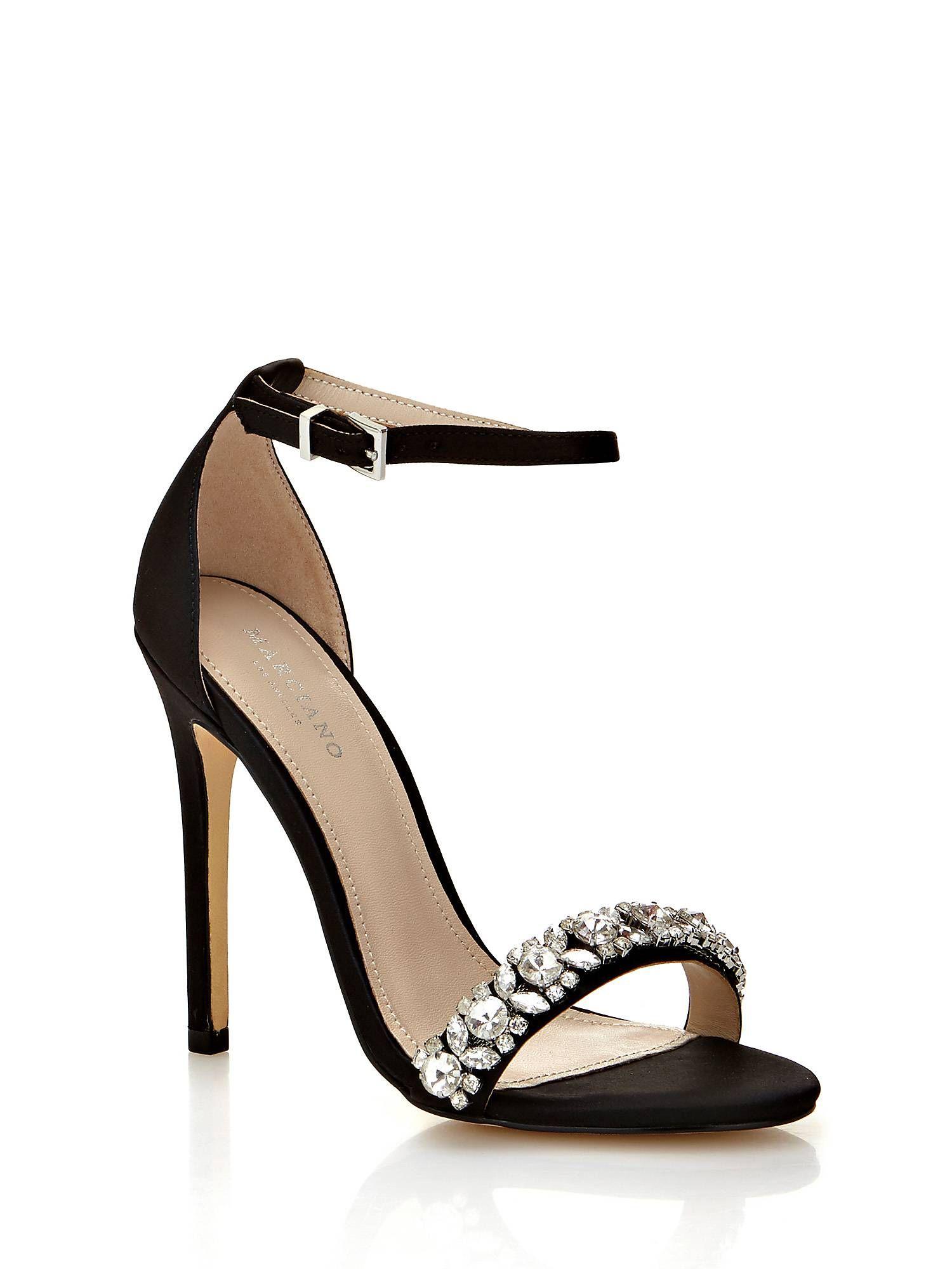 Sandalias de tacón con Strass 😍 Guess Primavera Verano 2018 Zapatos de  mujer👠  moda  fashion  zapatosdetacon  zapatosdemujer  tendenciasdemoda 165363295b08