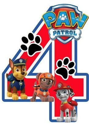 Paw Patrol Birthday Card Invitations Pinata