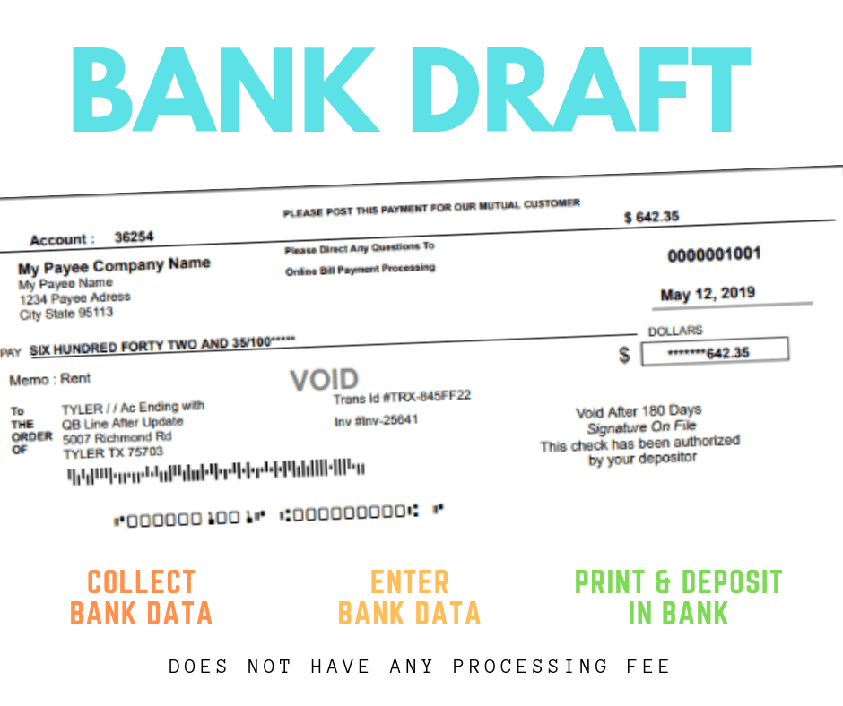 How To Create Bank Draft Or Check Draft Paid By Phone Remote Check Online Checks Invoice Template Word Demand Draft