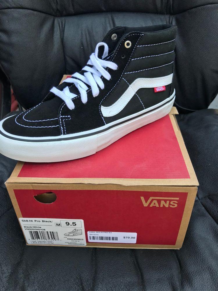 Vans Sk8-hi PRO - High top skate shoe