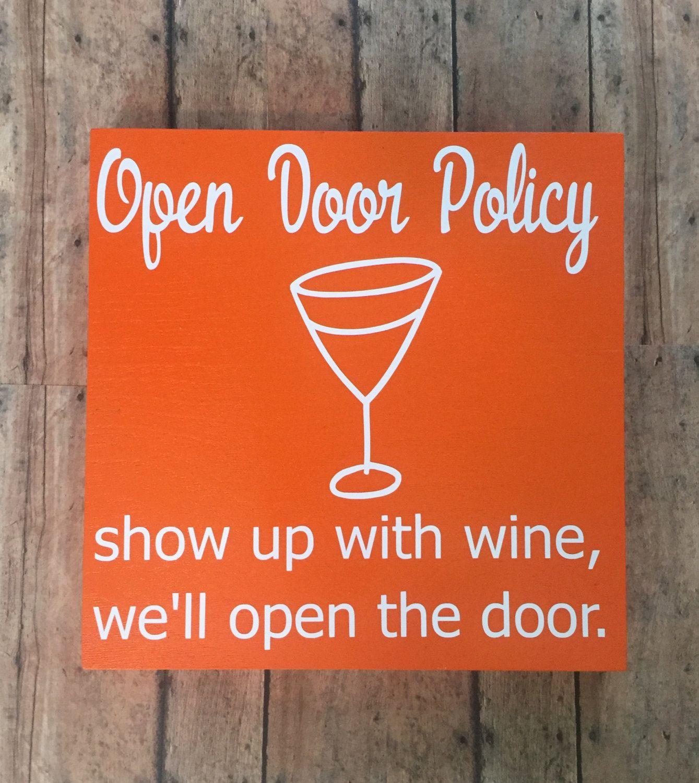 Vintage Wooden Wine Signs