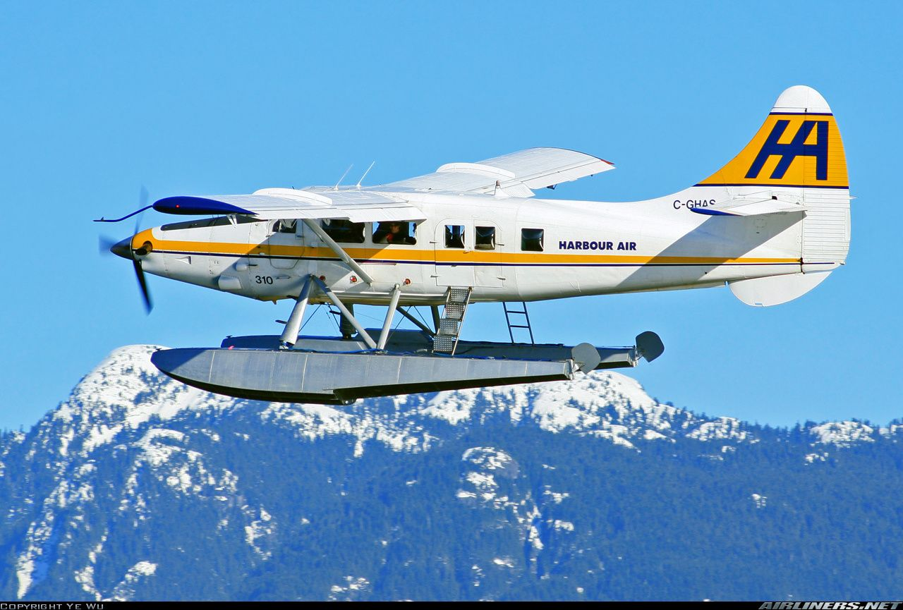 De Havilland Canada Dhc-3t Vazar Turbine Otter