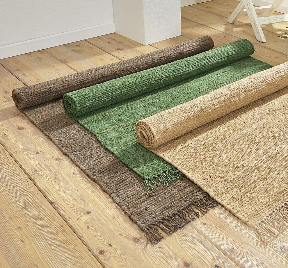 Perfekt Fur Den Landhaus Stil Und Ebenso Attraktiv Als Kontrast Zum Modernen Clean Look Unser Handwebteppich Legt Ih Gewobener Teppich Handwebteppiche Teppich