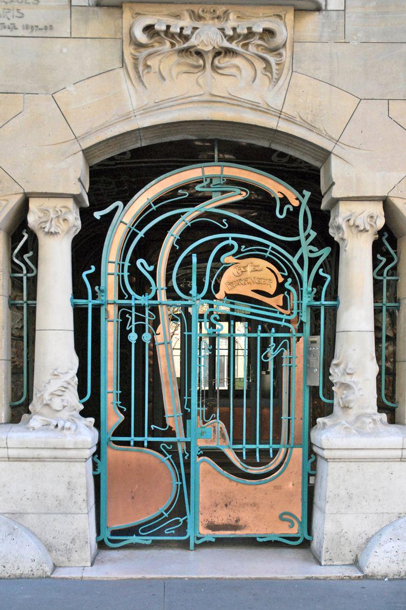 Les plus belles portes d'entrée de Paris (avec images