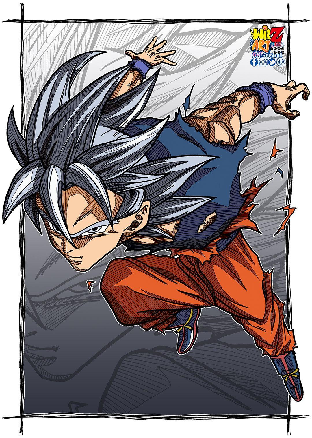 Goku Mui Colorƶ Dragon Ball Art Goku Dragon Ball Super Artwork Anime Dragon Ball Super