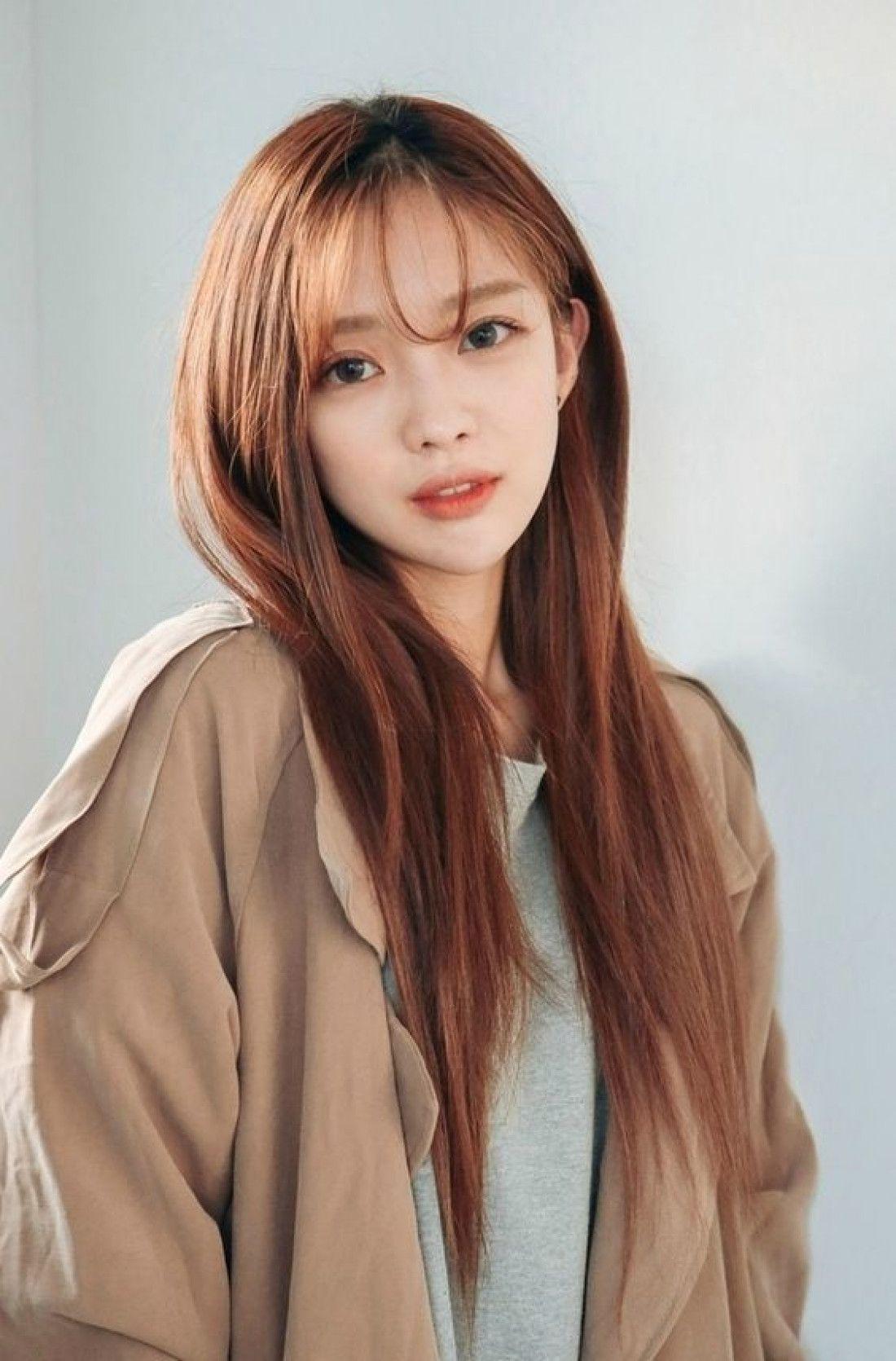 Thai Cute Girl M A R V E L O U S M O D E L S In 2019 Asian Hair Medium Hair Styles Korean Long Hair Korean Hairstyle