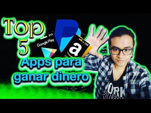 Top 5 Apps Para Ganar Dinero A Paypal Amazon Google Play Y Más Gánatelavida Com Ganar Dinero Google Play Apps