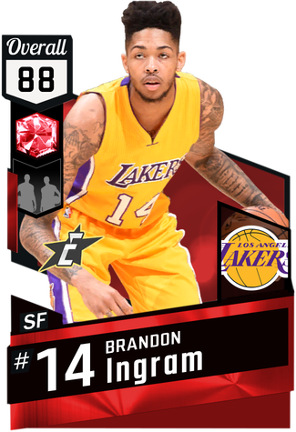 Collector Pack 2kmtcentral Los Angeles Lakers Players Brandon Ingram Baylor Basketball