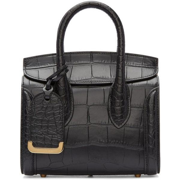 mini shopper bag - Black Alexander McQueen ze6tn